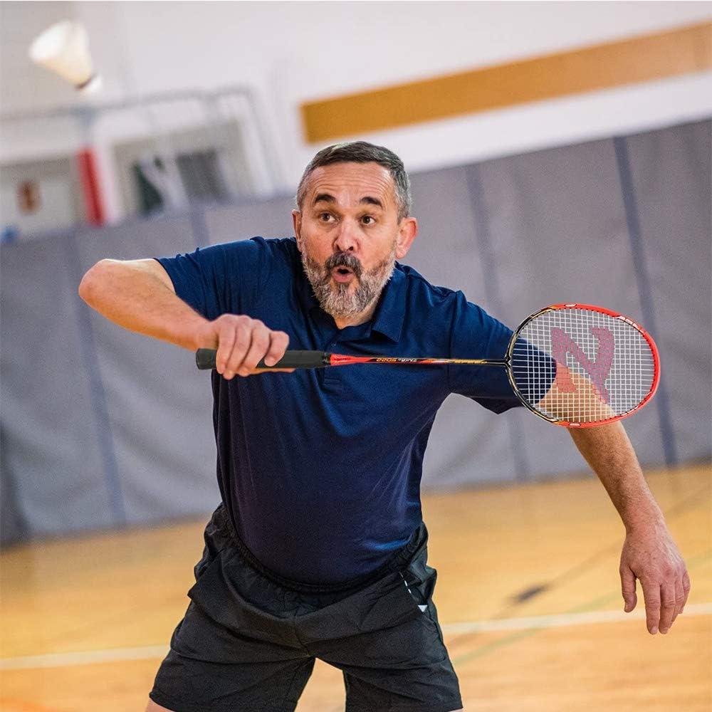 12pi/èces Hpamba balles de Badminton /à Haute Vitesse Badminton Grande Durabilit/é Stabilit/é badminton de Exercice en Plastique Nylon Avanc/és Balles de Badminton Plastique Volant Badminton de Sport Gym