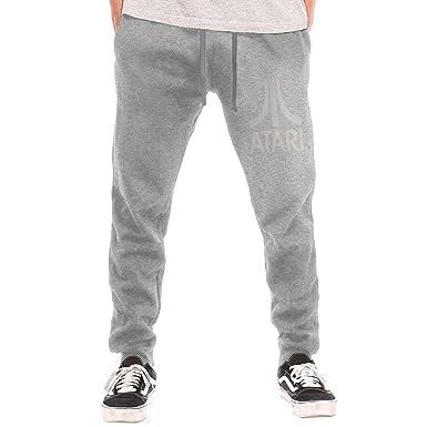 Atari - Pantalones de chándal para Hombre, Color Blanco - Negro ...