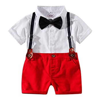 Transser- Traje de ropa para bebés, camisa de caballero + ...