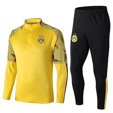 WXHMKGG Uniforme De Fútbol Amarillo para Hombres, Uniforme del ...