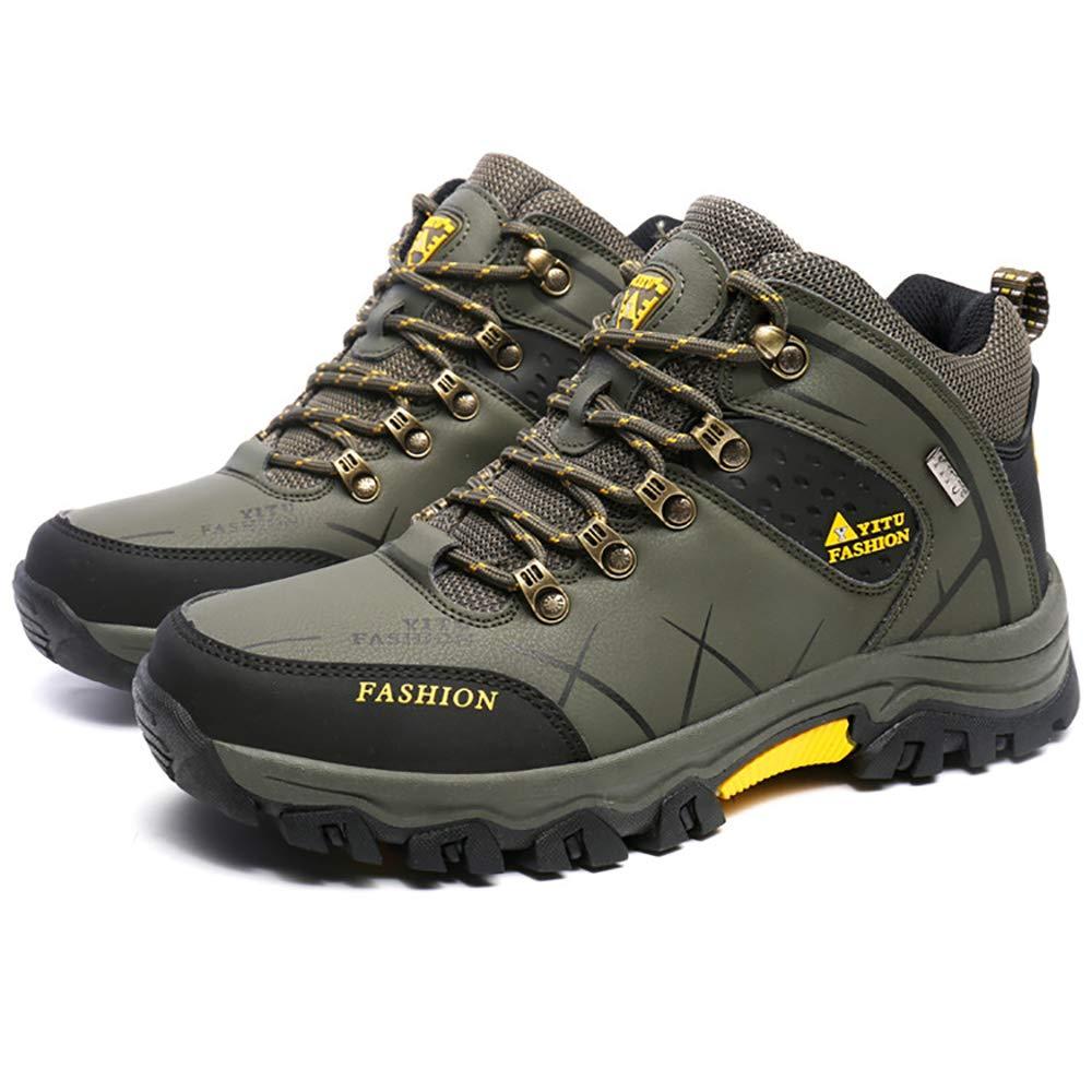 LH Winter Outdoor-Bergsteigerschuhe Männliche Rutschfeste Wasserdichte Wanderschuhe Sport Casual Herren Schuhe,43