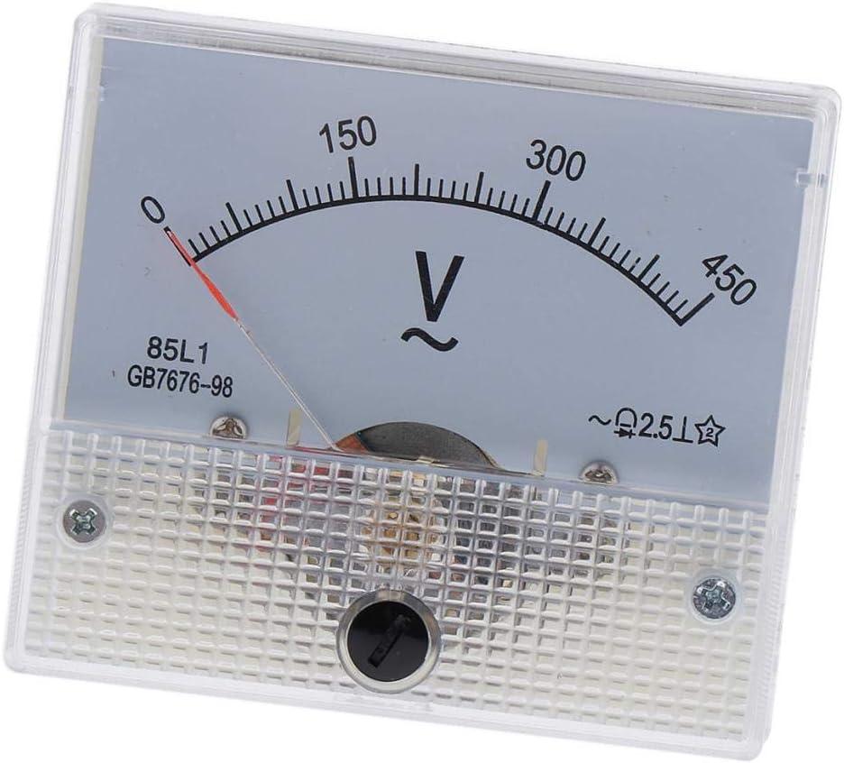 0-250V LOVIVER Accurate 85L1 AC Voltmeter Analog Pointer Voltage Meter Gauge 62 x 60 x 55mm