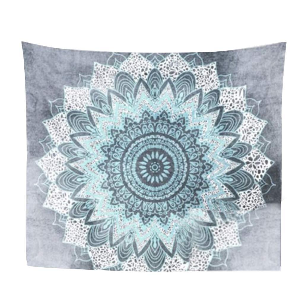 AkoMatial Fashion Bohemian Tapestry Mandala Carpets Flower Indian Tapestries Wall Hanging Blanket Home Decor