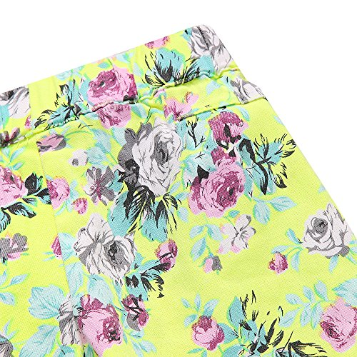 Richie House Little girl's Shorts with All over Floral Print RH1002-C-5/6 by Richie House (Image #6)