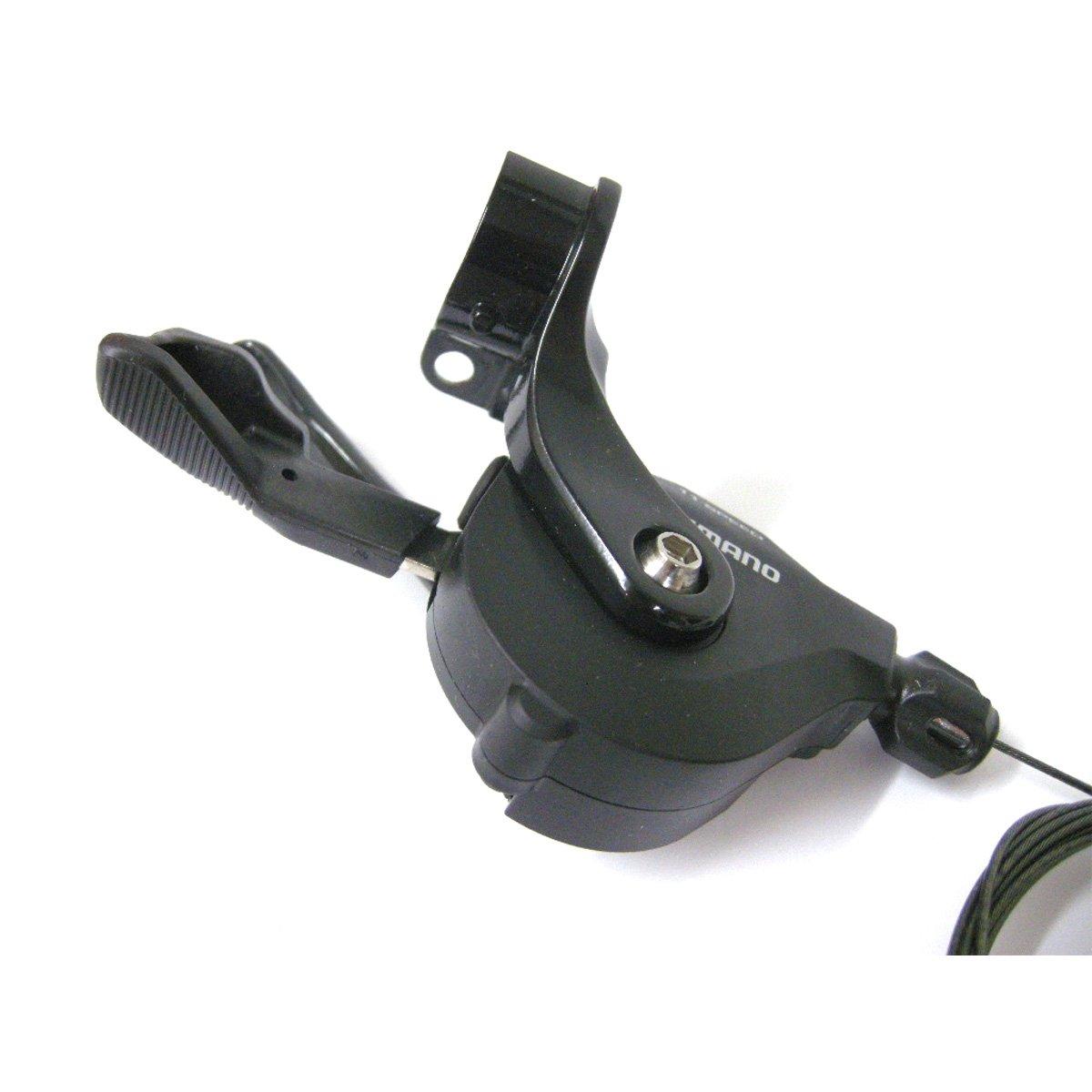 Shimanoフラットハンドルバーロード自転車シフトレバー – sl-rs700-i B076P2MGLTブラック RIGHT, 11-SPEED