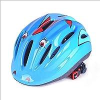 JIE KE Fietsen Skaten Skateboard Helm Kinderen Rijden Helm Fietshelm (Kleur : Blauw)