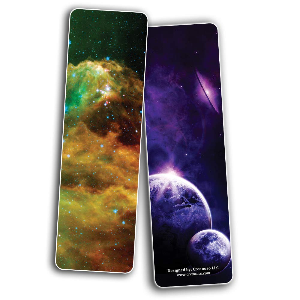 confezione da 12 Galaxy Segnalibro serie 2