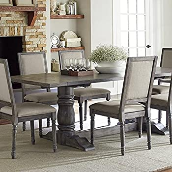 Amazon Com Aldridge Dining Table 30 Quot Hx76 Quot Wx36 Quot D
