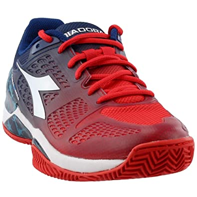 360c2ad908 Amazon.com | Diadora Mens Speed BLUSHIELD Clay Tennis Athletic | Shoes