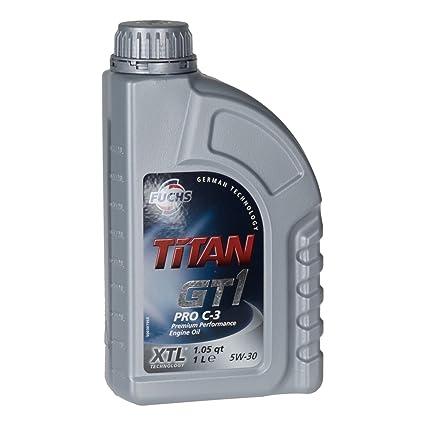 FUCHS TITAN GT1 Pro C-3 5W30 - Aceite de motor (1 litro)