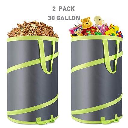 Amazon.com: Hortem - Bolsas de basura para jardinería, 2 ...