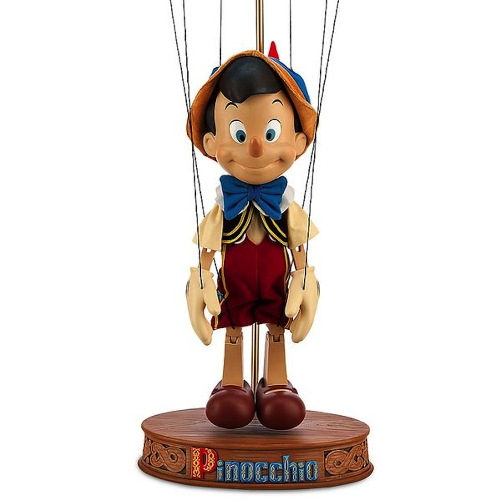 Disney Store Pinocchio Marionette Figurine - Limited Edition 1 of only 500 Made