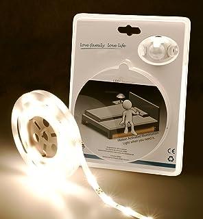 kwmobile LED Bettlicht mit Bewegungsmelder - Bett Lichtleiste ...