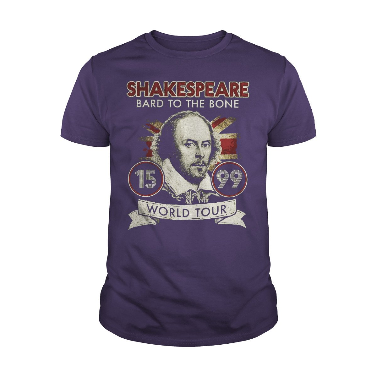 William Shakespeare Bard To The Bone Shirts