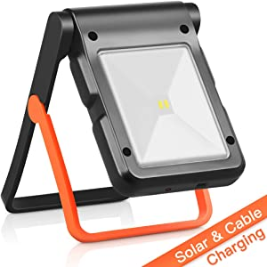 Giveaway: Neporal Portable LED Work Light Solar and USB Rechargeable...