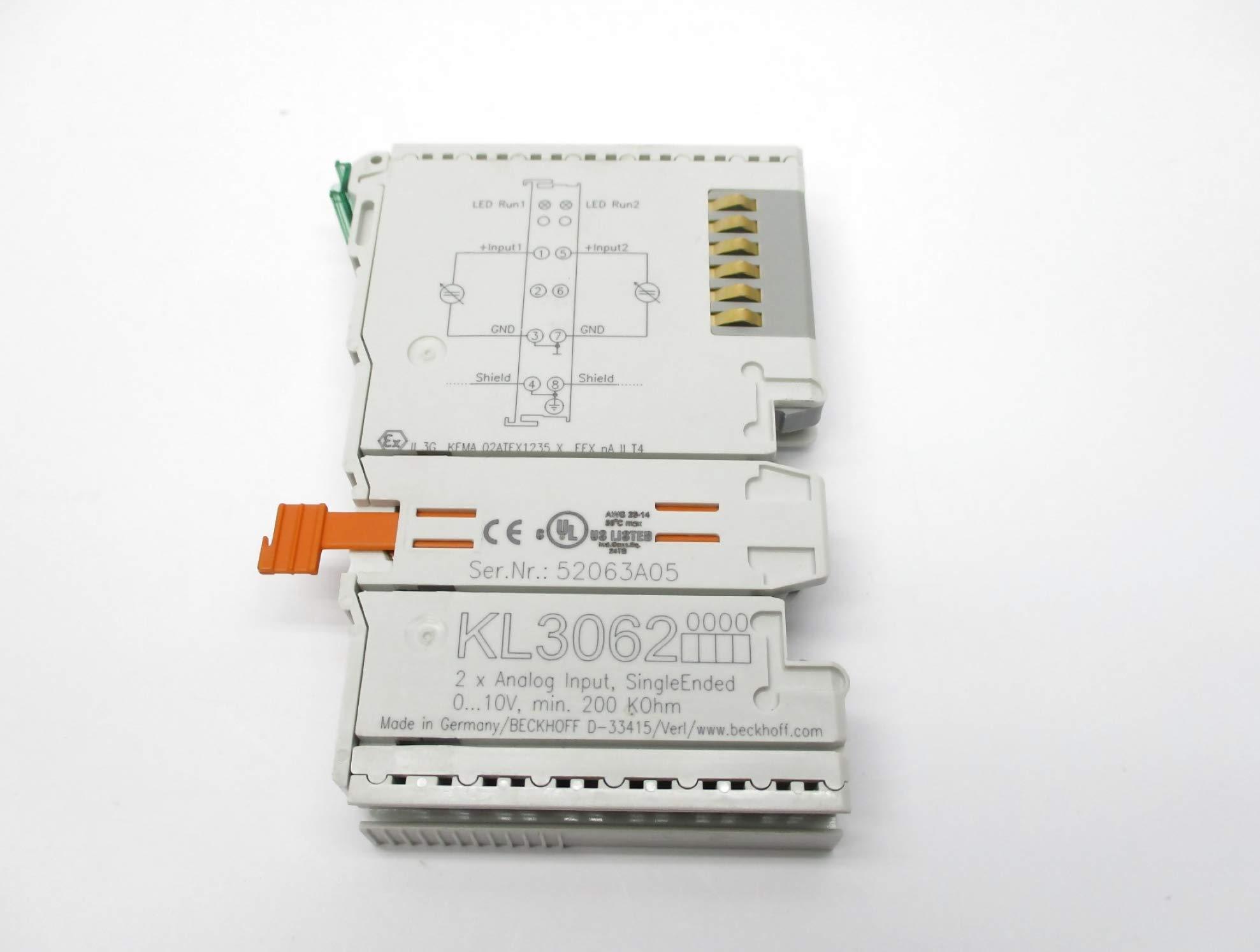 BECKHOFF KL3062 NSNP by INDUSTRIAL MRO