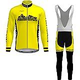 Ropa Ciclismo Verano para Hombre - Cornasee Ciclismo Maillot y ...