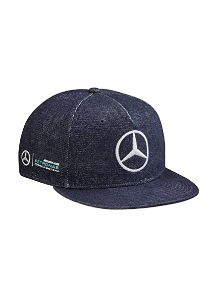 78337d653a7 Image Unavailable. Image not available for. Color  Mercedes Benz Lewis  Hamilton Great Britain Special Edition Cap Denim