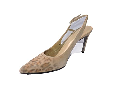8a63312336db Image Unavailable. Image not available for. Color: Stuart Weitzman Women's  Profile Leopard Suede Pumps ...