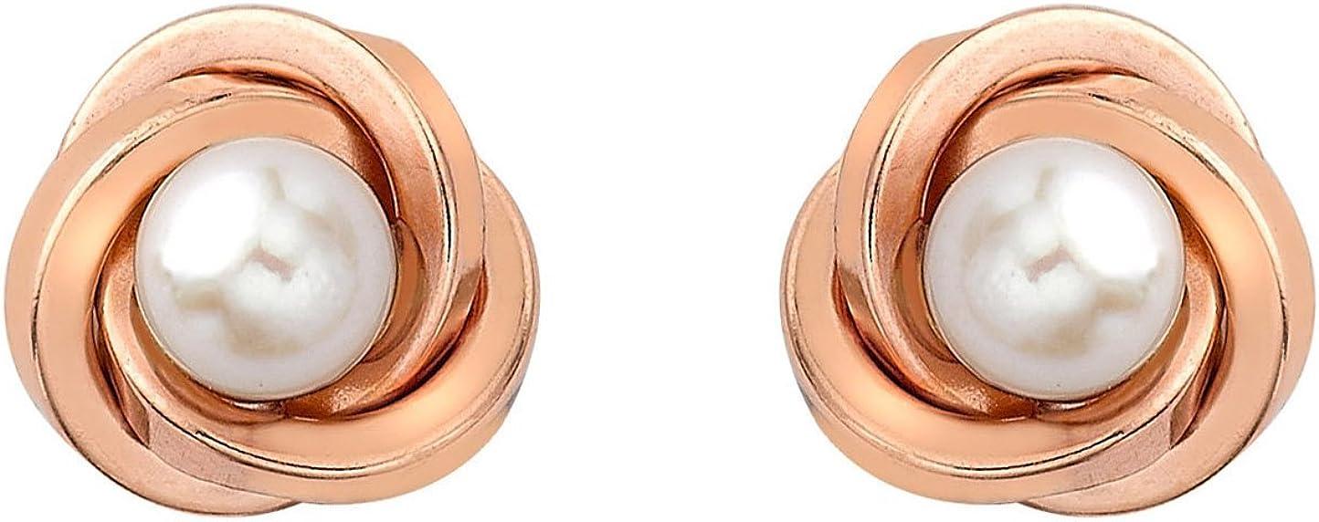 Carissima Gold Pendientes de mujer con oro rosa de 9 K (375/1000)