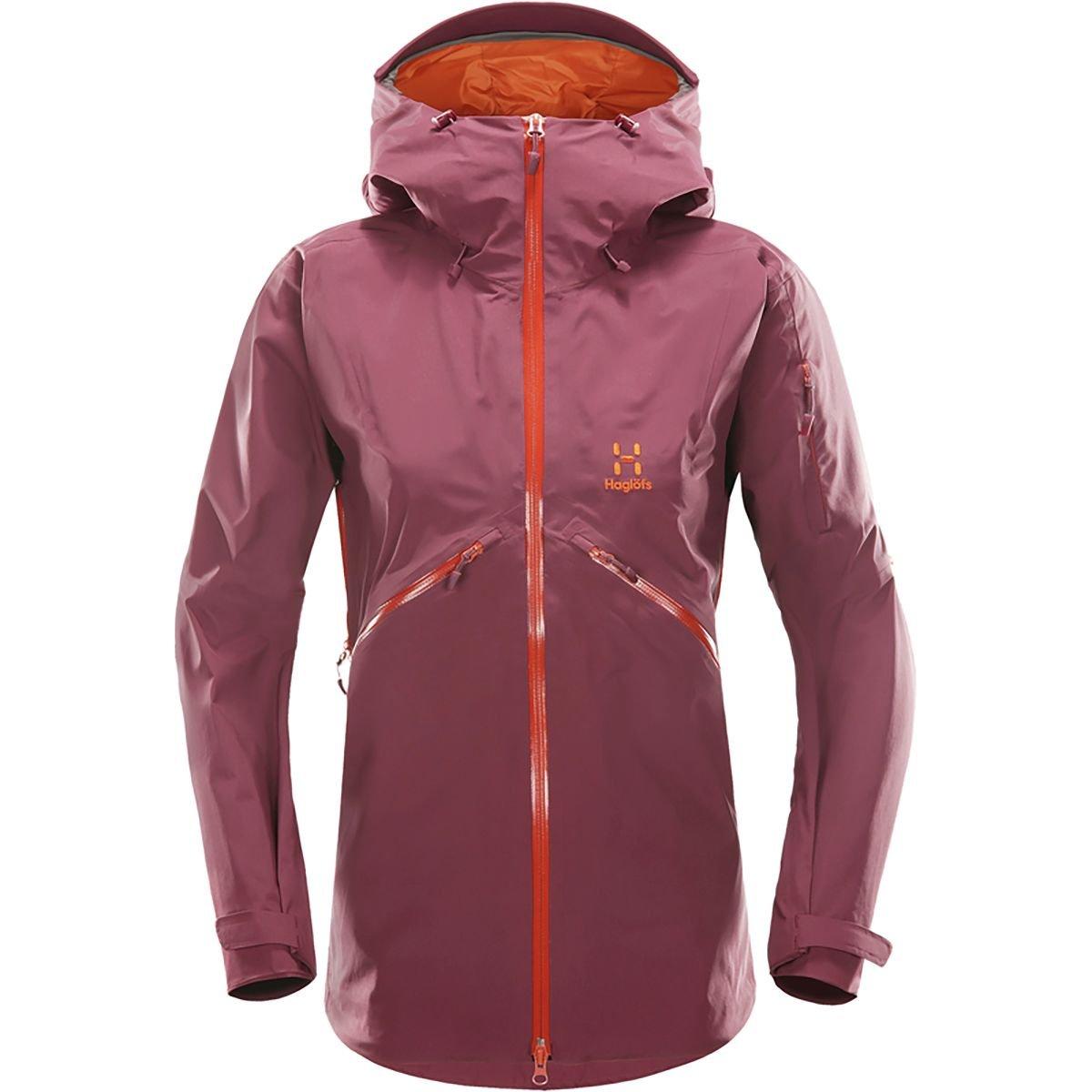 (ホグロフス) Haglofs Khione Jacket レディース スキー ウェア ジャケットAubergine [並行輸入品] B078RJV2D5 日本サイズ L (US M)|Aubergine Aubergine 日本サイズ L (US M)