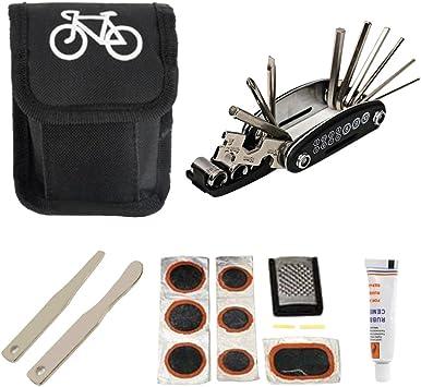 Beetest Herramientas portátiles de reparación de Bicicletas Set ...
