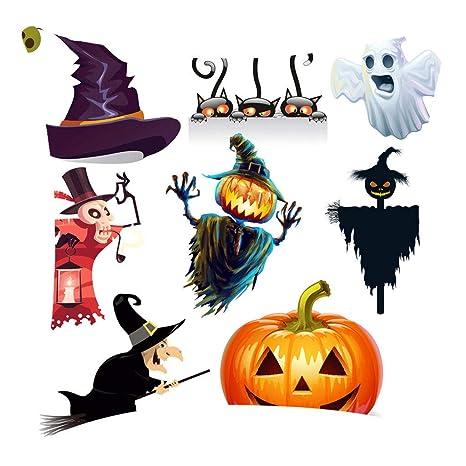Funda de cojín con diseño de calabaza de Halloween, con ...