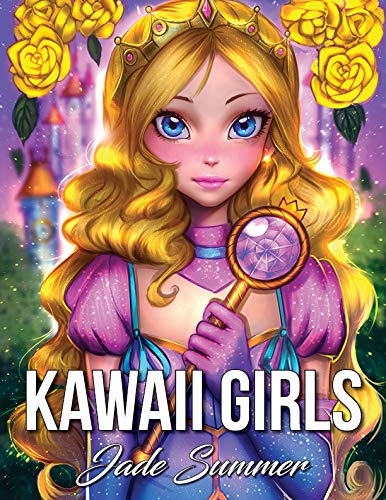 Pdf Crafts Kawaii Girls: An Adult Coloring Book with Adorable Anime Portraits, Cute Fantasy Women, and Fun Fashion Designs (Relaxation Gifts)