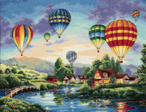 Dimensions Needlecrafts Counted Cross Stitch, Balloon Glow