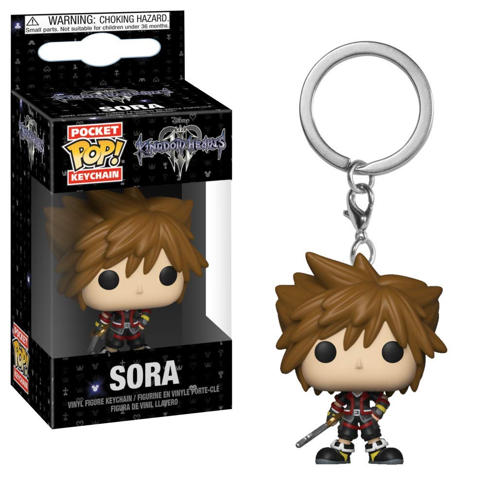 Funko Pop Keychain: Kingdom Hearts 3 - Sora Collectible Figure, Multicolor