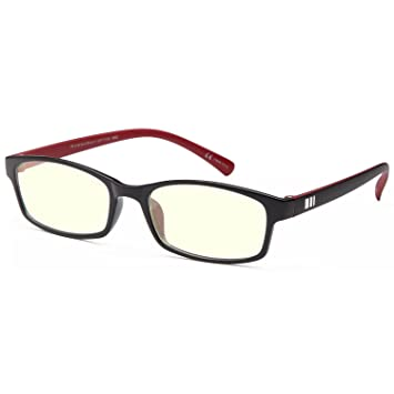 577c2c55f2fa Gamma RAY 000 Professional Computer Gaming Readers Reading Glasses with  Magnification and Anti Blue Light Anti