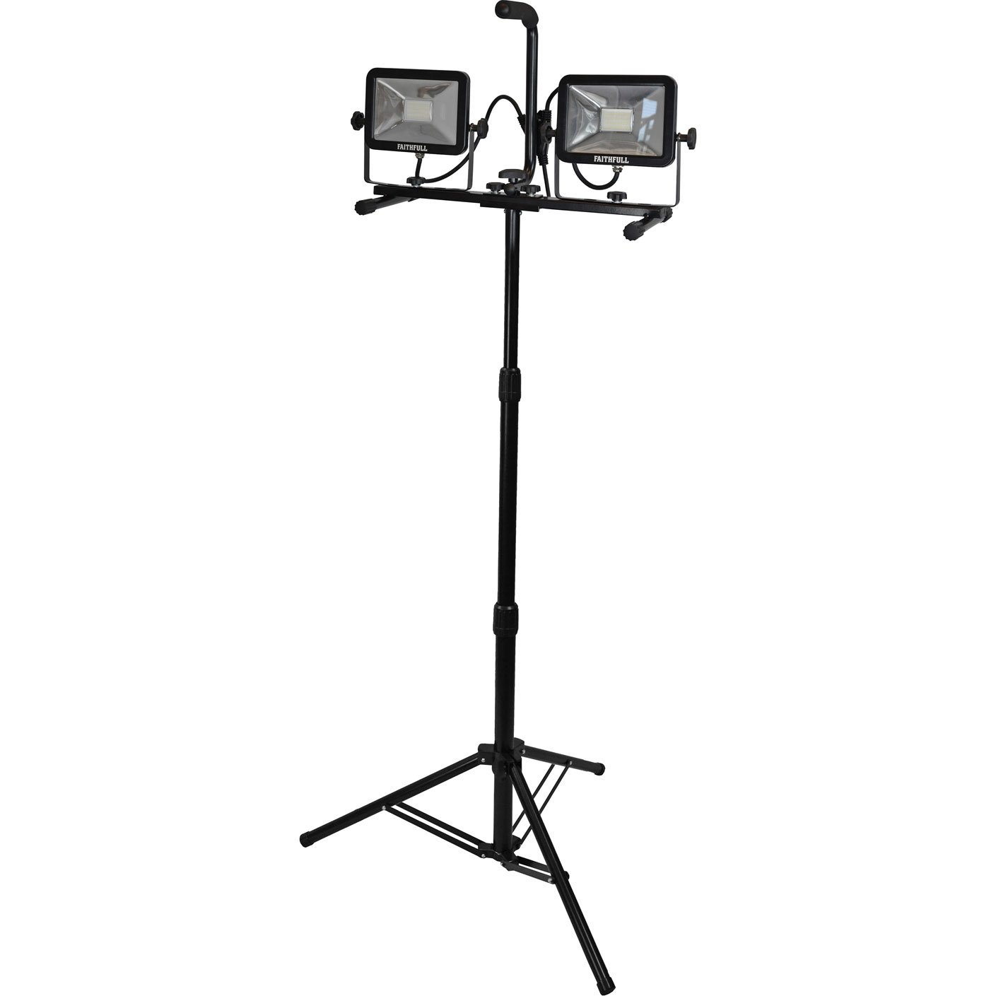 Faithfull SMD LED doppia testa treppiedi V 3600lumen 40Watt 110V