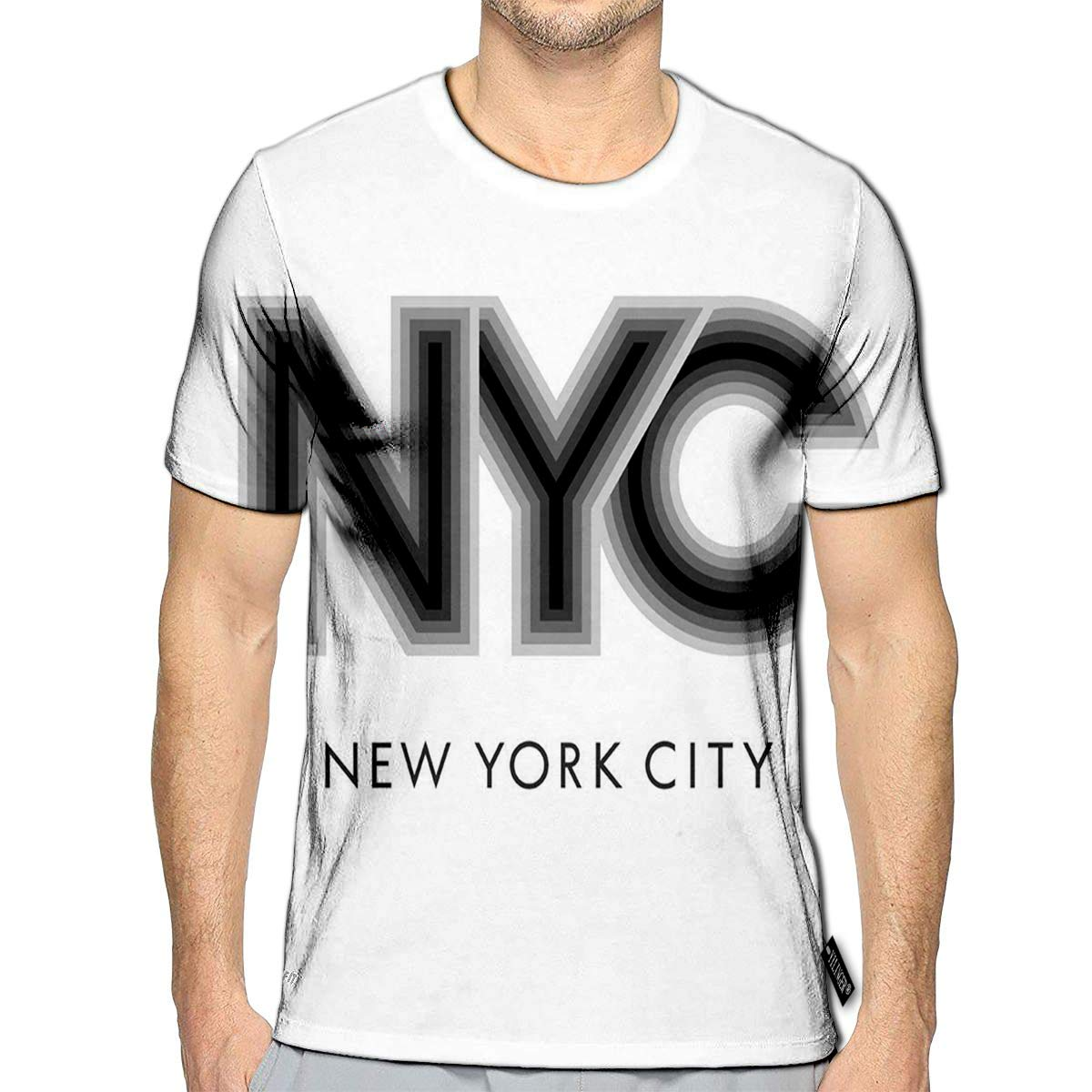 3D Printed T-Shirts New York City America Flag Varsity Other Uses GRAP Short Sleeve Tops Tees