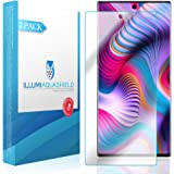 ILLUMI AquaShield Screen Protector Compatible with Samsung Galaxy Note 10+ Plus (Note 10+ 5G, 6.8 inch Display) (Compatible with Cases)(2-Pack) No-Bubble High Definition Clear Flexible TPU Film