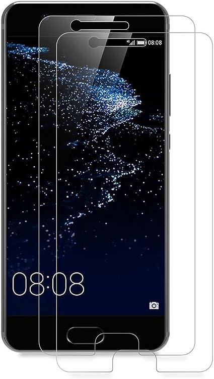 AICEK [2-Pack] Protector de Pantalla Huawei P10, Cristal Templado para Huawei P10 Vidrio Templado P10 (5,1 Pulgadas) Cristal Screen Protector: Amazon.es: Electrónica