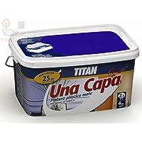 Titan M125533 - Pintura plastica monocapa mate