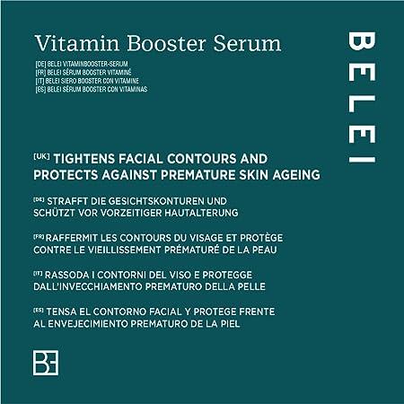 Marca Amazon - Belei Sérum Booster con vitaminas, 30ml