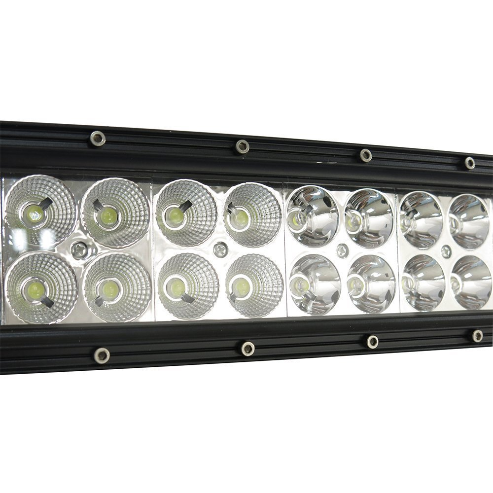 Easynew 20 Inch 120w Curved Led Light Bar Work Lights Wiring Up Secondary Driving High Beams And Independent Switch Flood Spot Combo Beam Ip68 Waterproof 10v 30v 3w40 12000 Lumen For 4wd Suv Ute Offroad