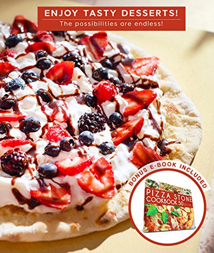 Rectangle Pizza Stones : Crustina rectangular pizza stone inch import