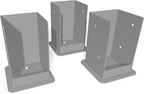 Vita VA80207 Pergola Bolt Kit 3 Pack Surface Mount Bracket