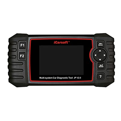 iCarsoft JP V2 0 Diagnostic Scan Tool for Japanese Vehicles  Toyota/Lexus/Scion/Isuzu/Nissan/Infiniti/Mitsubishi/Honda(Acura)/Mazda/Subaru  +Oil Reset