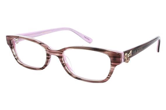 1e6788b42 Amazon.com  Ted Baker Women s Optical Eyeglasses B925 Brown Size 46   Clothing