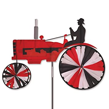 Amazon.Com: Premier Designs Red Tractor Spinner: Patio, Lawn & Garden