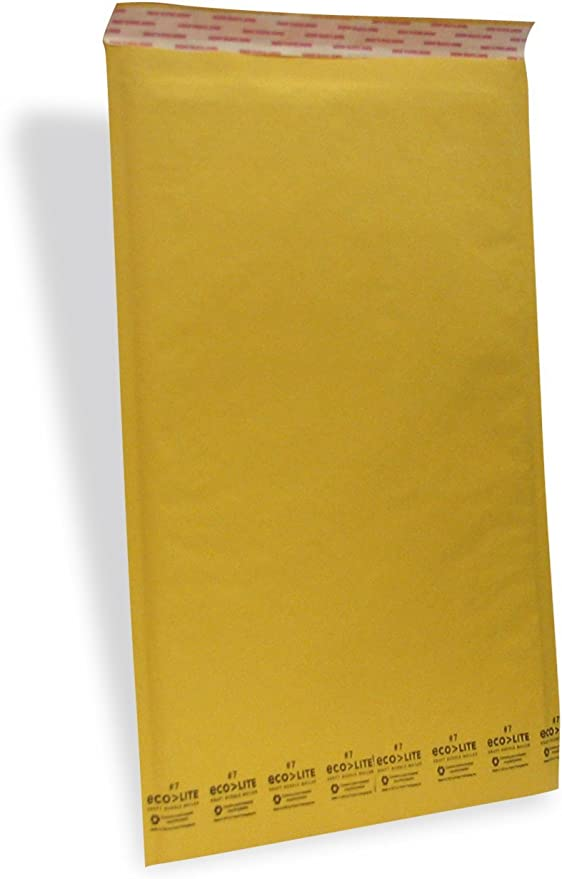 20 Gold CD Padded Mailing Bubble Envelopes 160 x 170mm Internal Size CD