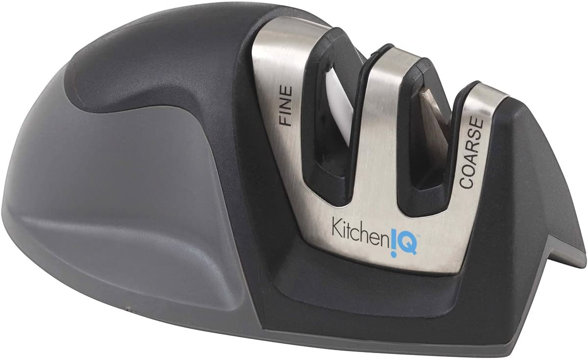 8. KitchenIQ Edge Grip Knife Sharpener