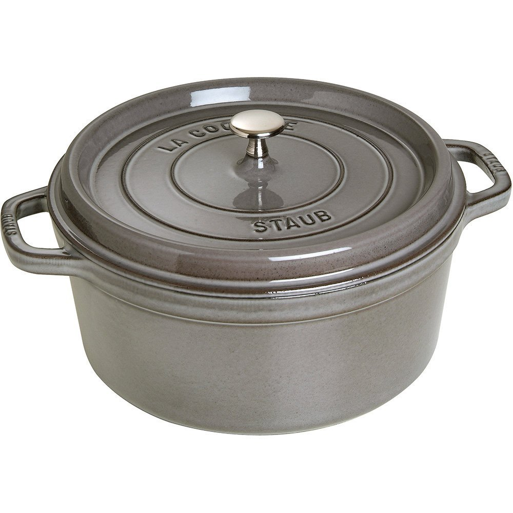 7-Qt. Round Dutch Oven Color: Graphite