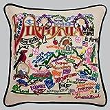 Catstudio Virginia Pillow by Catstudio Embroidered Pillow