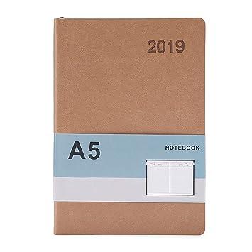 Agenda mensual de diseño sencillo para cuaderno de ...