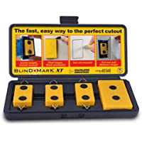 Calculated Industries Blind Mark Drywall Electrical Box Cutout Tool
