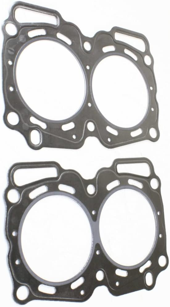 Impreza 99-11 Graphite Set of 2 GAS FI SOHC Cylinder Head Gasket compatible with Subaru Forester 99-10